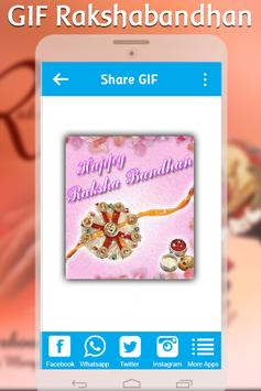 Happy Rakshabandhan GIF : Rakhi GIF 2017 apk screenshot