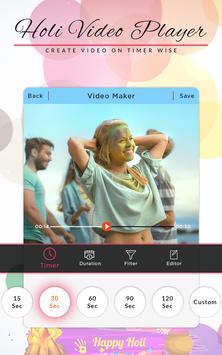 Holi Video Maker poster