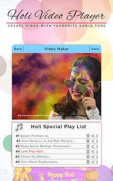 Holi Video Maker screenshot 2