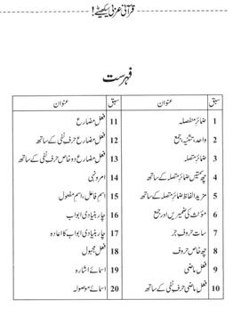 Qurani Arabi Seekhiay Level 1 screenshot 1