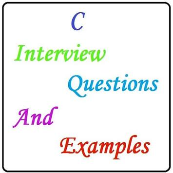 Interview Questions of C poster