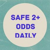 SAFE 2+ ODDS  DAILY icon