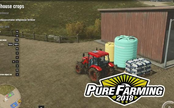 Tips Pure Farming 2018 poster