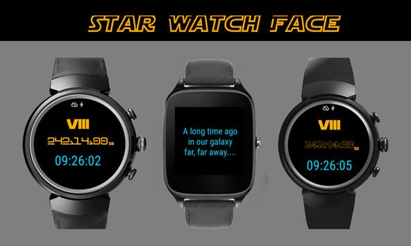 Star Watch Face 8 CountDown poster