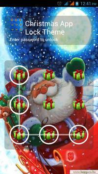 Christmas App Lock Theme apk screenshot