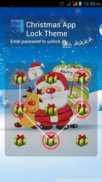 Christmas App Lock Theme poster