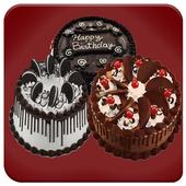 Birthday Cakes Designs- Round cakes icon