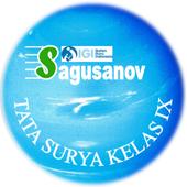 IPA - TATA SURYA KELAS IX icon