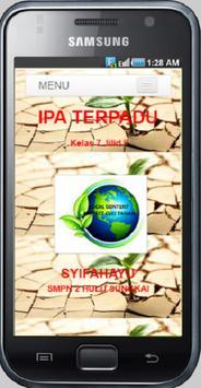 IPA Terpadu Kelas 7_Syifahayu poster
