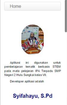 IPA Terpadu Kelas 7_Syifahayu apk screenshot