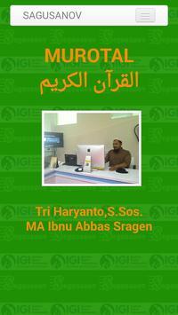 Murotal Musyari Rosyid poster