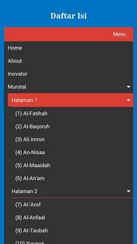 Murotal Musyari Rosyid apk screenshot