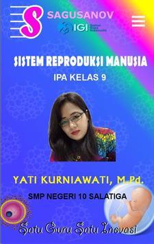 IPA - Sistem Reproduksi - IX poster