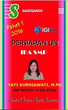 IPA - Persiapan UN SMP poster
