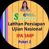 IPA - Persiapan UN SMP Paket 3 icon