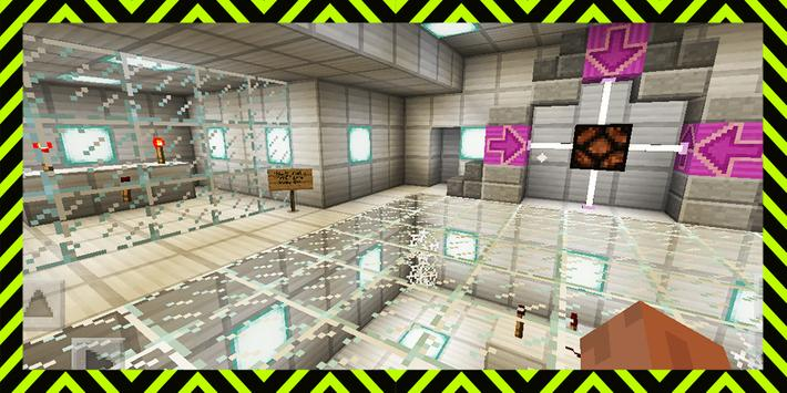 The Circuit Friends. Map for MCPE poster