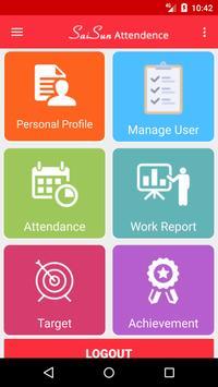 Saisun Group Attendance System screenshot 2