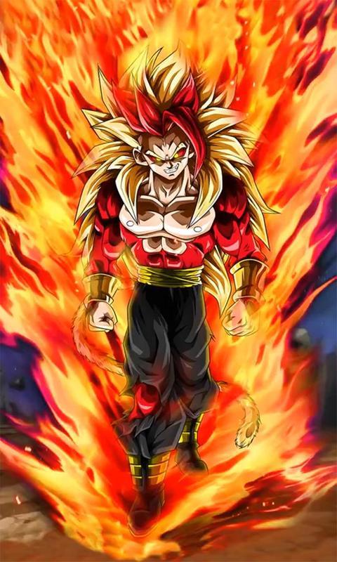 ... Goku Saiyan 3D Live wallpaper screenshot 14 ...