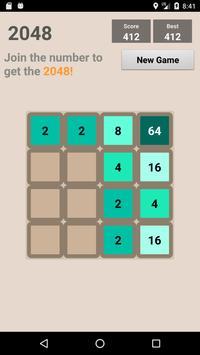 2048Game screenshot 1