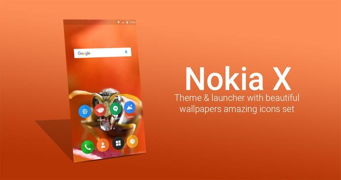 Nokia X Theme and launcher poster