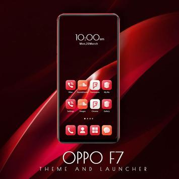 Oppo F7 Theme and Launcher poster