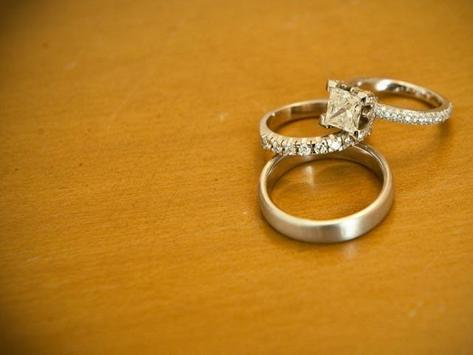 Cool Wedding Ring Wallpapers poster