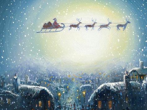 Christmas Santa Wallpapers poster