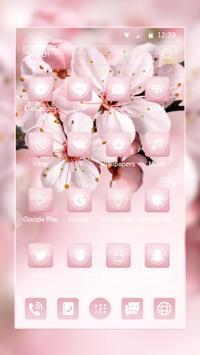 Sakura Pink Theme screenshot 1