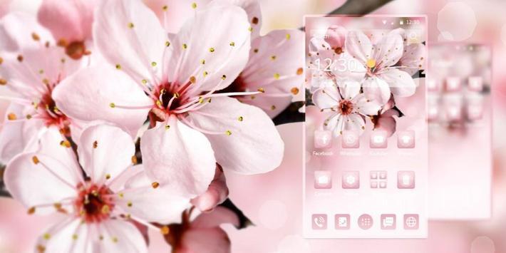 Sakura Pink Theme screenshot 3