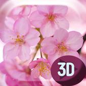 Sakura Flowers HD Live Wallpap icon