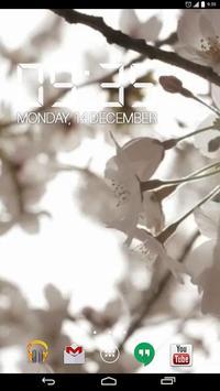 Sakura Flowers HD Live Wallpap apk screenshot