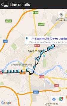 Salamanca Bus apk screenshot