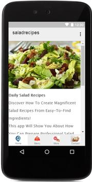 Best Salad Recipes apk screenshot