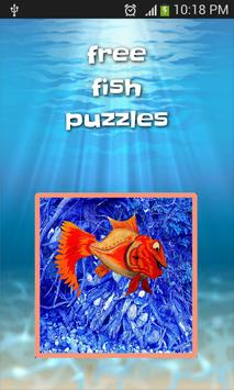 free fish puzzles game PRO poster