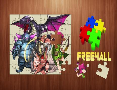 Puzzle For Clash of Clans poster