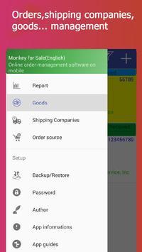 Monkey Sales Management Pro apk screenshot