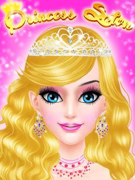 Salon Games : Royal Princess Makeup Salon Game poster