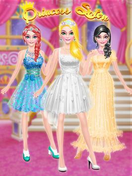 Salon Games : Royal Princess Makeup Salon Game screenshot 13