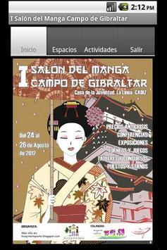 Salon Manga Campo Gibraltar poster
