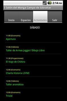 Salon Manga Campo Gibraltar apk screenshot