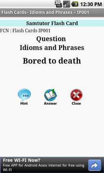 FlashCard-Idioms&Phrases-IP001 apk screenshot