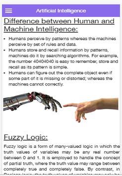 Artificial Intelligence screenshot 1