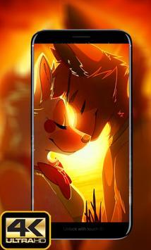 Foxy And mangle Wallpapers HD screenshot 2