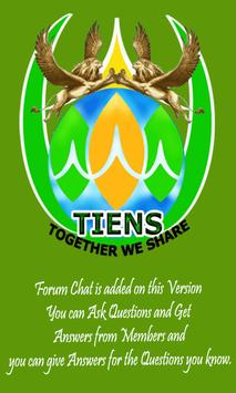 Tianshi Business Group Tiens poster