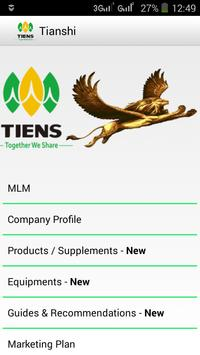 Tianshi Business Group Tiens apk screenshot