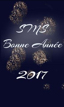 Sms bonne année 2018 poster