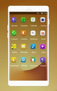 Theme for Samsung W2016 screenshot 1