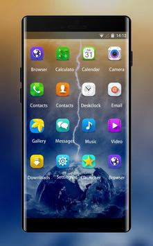 Theme For Samsung Galaxy A9 Lightning Wallpaper For Android Apk