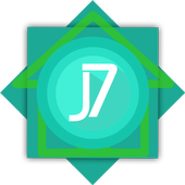 J7 launcher theme icon