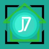 J7 launcher theme icon